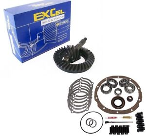 Ford 9 Inch Rear 3 55 Ring And Pinion Master Install Richmond Excel Gear Pkg