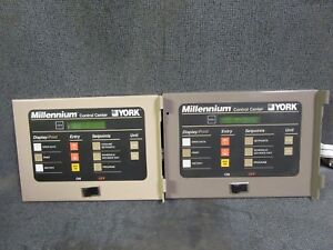 York Millennium Display Control Center 371 02742 101 York Chiller Display