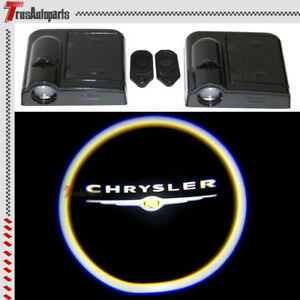 2x For Chrysler Wireless Laser Door Welcome Courtesy Ghost Shadow Lights