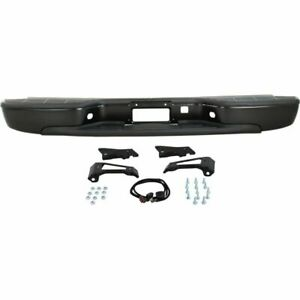 New Black Steel Step Bumper Assembly For Chevrolet Silverado 1500 1999 2006