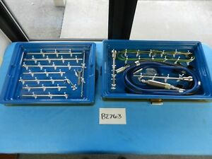 Anspach Surgical Orthopedic Cement Eater Instrument Set With Cases