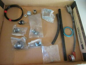 Miscellaneous Parts Lot Of Gauge Hardware For Semi Truck Fittings Hoses
