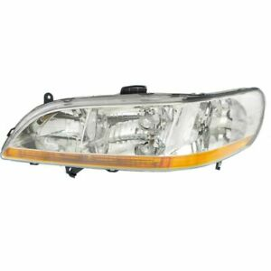 For Accord 98 00 Driver Side Headlight Clear Lens