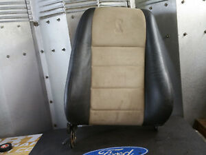 2003 2004 04 03 Ford Mustang Cobra Svt Terminator Bucket Leather Suede Seat Tan