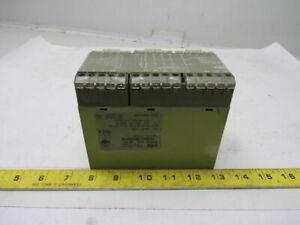 Pilz Pze 5v 3sec 4s 1o Safety Relay 474965 24vdc 3 5w