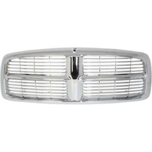 For Dodge Ram 1500 2002 2005 Ram 2500 3500 03 05 Grille Assembly Chrome Plastic