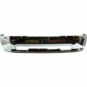 New Ch1002387 Front Bumper Chrome Steel For Ram 1500 2011 2012