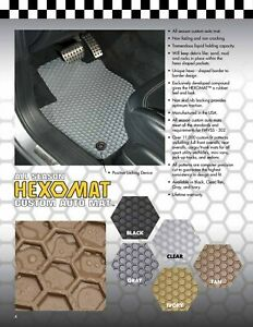 Intro Tech All Weather Mats W Oem Fastening System Toyota Sequoia 2001 17