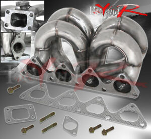 B series 88 00 Civic 94 01 Integra Jdm Bottom Mount T3 Turbo Exhaust Manifold