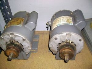 Double Stack Dryer Motor 1ph Speed Queen huebsch P n 430163 used