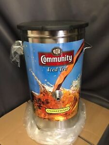 Bunn 4 Gallon Iced Tea Dispenser 34214 0032 Tdo 4 Community Iced Tea New In Box