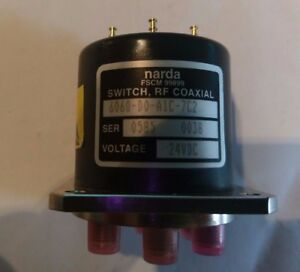 Narda Switch Rf Coaxial 24vdc 6060 d0 a1c 7c2 Blocking Matrix