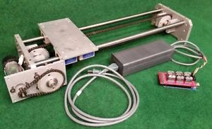 Rhino Robot Linear Slide Base With New Megamotor6 And Power Supply Free Shipping