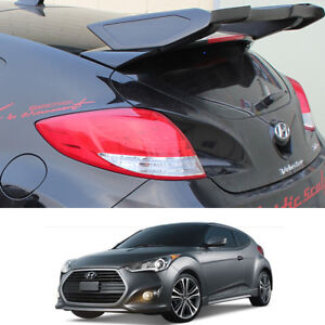 Rear Roof Wing Spoiler Unpainted Parts For Hyundai Veloster Turbo 2012 2017