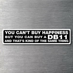 Buy A Db11 Sticker 7 Yr Water Fade Proof Vinyl Aston Martin Parts