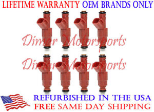 Genuine Bosch Fuel Injector Set 12 Hole 2000 Dakota Durango Grand Cherokee 4 7l