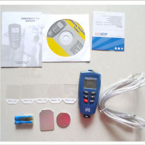 Cem Dt 156 Pro Paint Coating Thickness Tester Meter Auto F nf Probe Kit 0 1250um