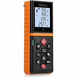 Tacklife Advanced Laser Measure 131 Ft Digital Distance Meter With Mute Function