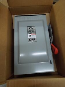 Siemens Hnf362r Heavy Duty Non fused Safety Switch 60a 600v Nema 3r Outdoor New