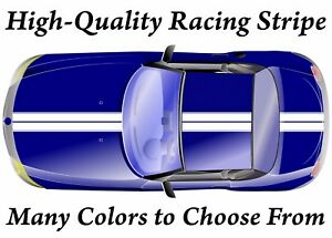 High Quality Vinyl Double Racing Stripe Decal Many Colors Sizes Available