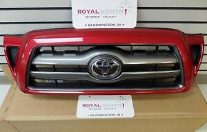 Toyota Tacoma Barcelona Red 3r3 Painted Sport Grille Genuine Oem Oe