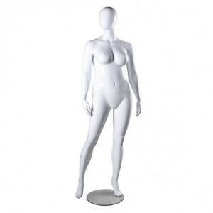 Only Hangers Plus Size Female Mannequin White
