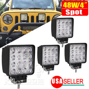 New 24inch 120w Led Work Light Bar Offroad Driving Lamp Suv Car Boat 4wd Truck