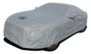 New 2005 2017 Ford Mustang 4 layer Outdoor Car Cover Gray
