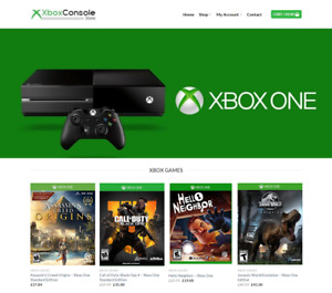 Xbox Website Business For Sale Earn 441 A Sale Free Domain Web Hosting