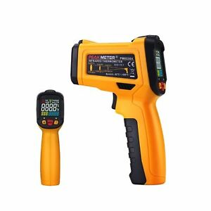 Digital Infrared Thermometer Peakmeter Pm6530a Laser Ir Temperature Gun Lcd F