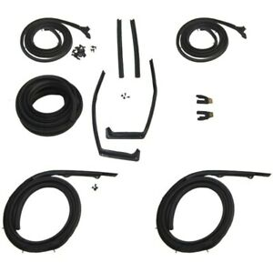 1959 1960 Oldsmobile 98 Ninety eight 2dr Hardtop Body Weatherstrip Seal Kit