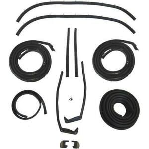 1958 Chevrolet Impala 2dr Hardtop Body Weatherstrip Seal Kit