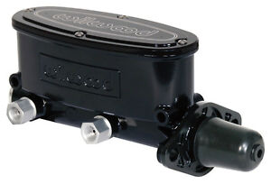 Wilwood Aluminum Tandem Chamber Master Cylinder 1 Bore black dual Outlet