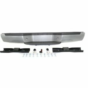 For Frontier 01 04 Rear Bumper Painted Silver Steel