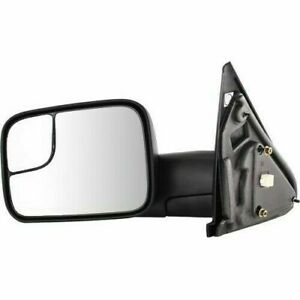 New Driver left Side Power Operated Towing Mirror For Dodge Ram Trucks 2002 2009
