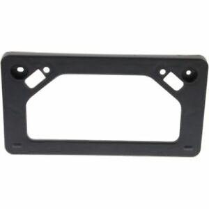 For Prius 10 11 Front License Plate Bracket Black