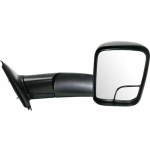 New Passenger Side Manual Non heated Towing Mirror For Dodge Ram Truck 2002 2009