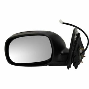 For Tundra 04 06 Driver Side Mirror Chrome