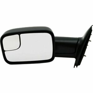New Ch1320227 Left Driver Side Manual Towing Mirror For Dodge Ram 2002 2009