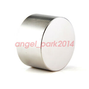1x Super Strong Large D60mm X 30mm Round Disc Rare Earth Neodymium Magnets N52