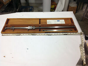 Sorenson 13 Center mike Hole Location Gage In Box Lid Missing Both Hooks