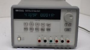 Agilent E3631 25v 1a 6v 5a 80w Triple Output Dc Power Supply W hp ib