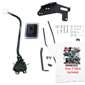 Hurst 3666809 Mastershift 3 Speed Shifter Kit Chevy Gmc Pickup Free T Shirt