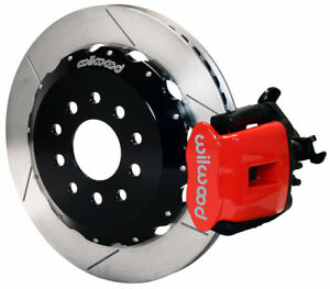 Wilwood Disc Brake Kit Rear Pb 94 04 Ford Mustang 13 Red Calipers