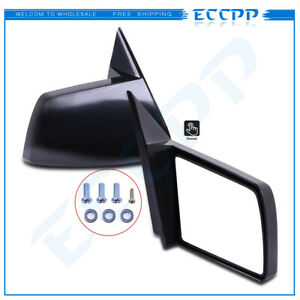 Manual Side Mirrors Pair Set Left Lh Right Rh For 88 98 Chevy Gmc Pickup Truck
