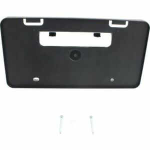 For Corolla 14 Front License Plate Bracket Black