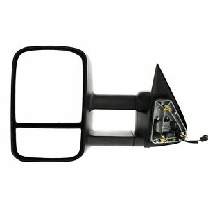 New Driver Side Manual Folding Towing Mirror For Cadillac chevrolet gmc 99 07