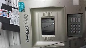 Mini Bank 2100 Atm Machine Works Great