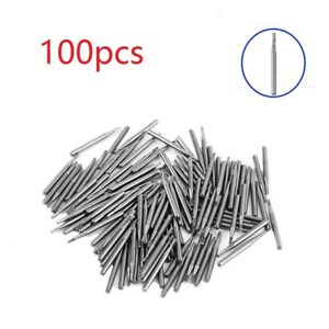 100pcs Dental Tungsten Carbide Drills burs 21mm Fg 330l For High Speed Handpiece