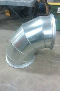 24 90 Degree Elbow For Paint Spray Booths